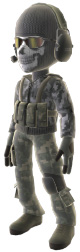 Modern Warfare 2 Ghost Outfit